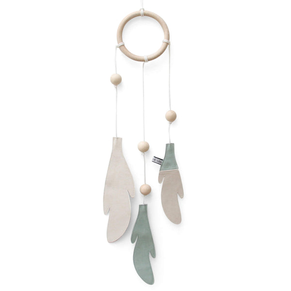 Dream Catcher - Dusty Mint and White