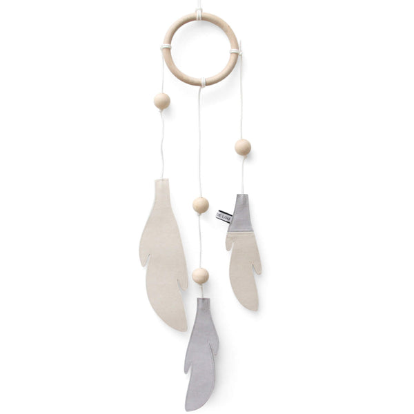 Dream Catcher - Grey and White