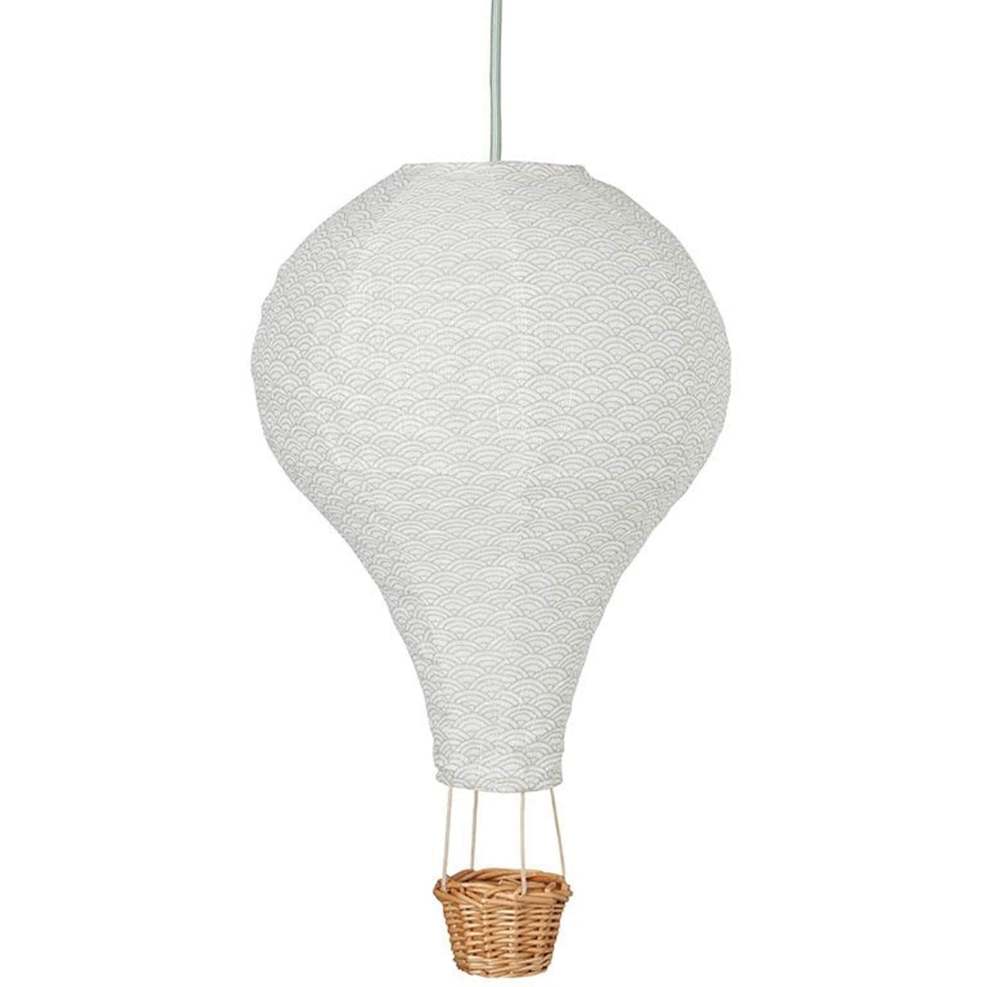 Hot Air Balloon Light - Grey Wave