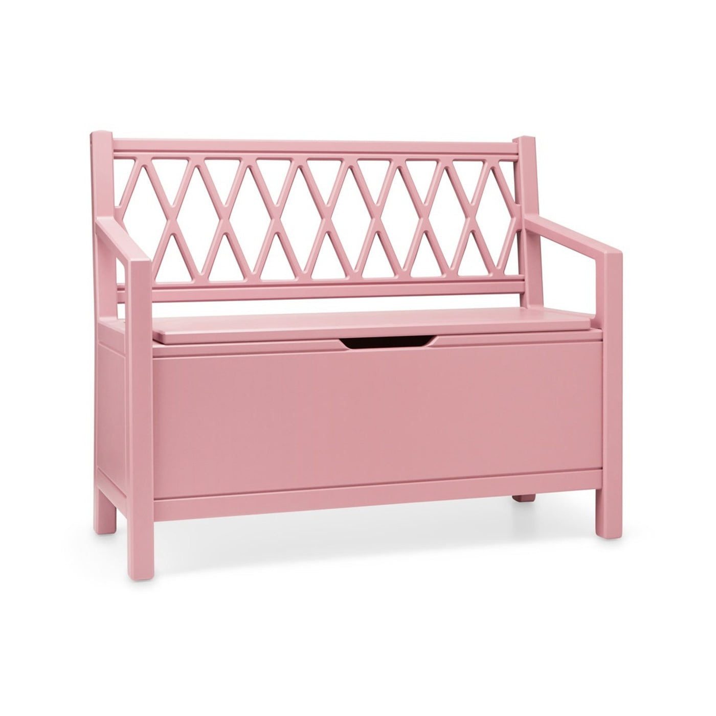 Harlequin Storage Bench - Berry