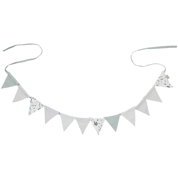 Nursery Bunting - Grey/Mint