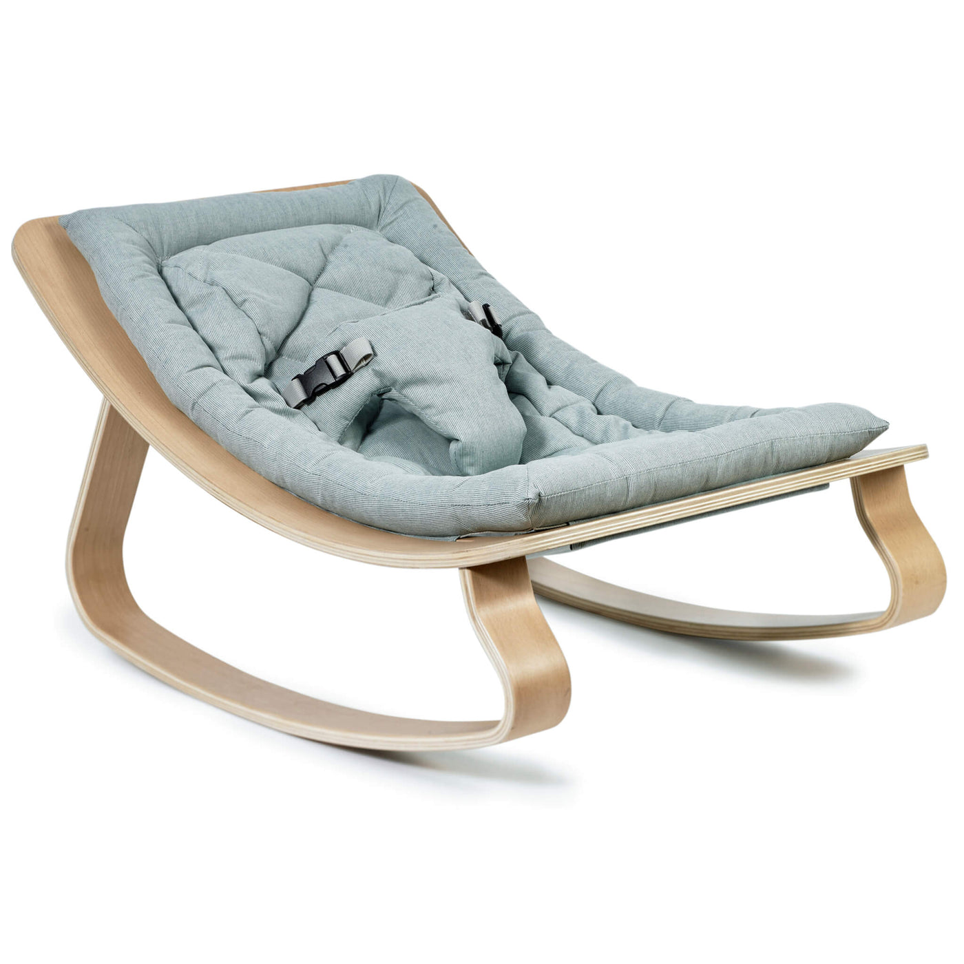 Beech Levo Rocker in Aruba Blue