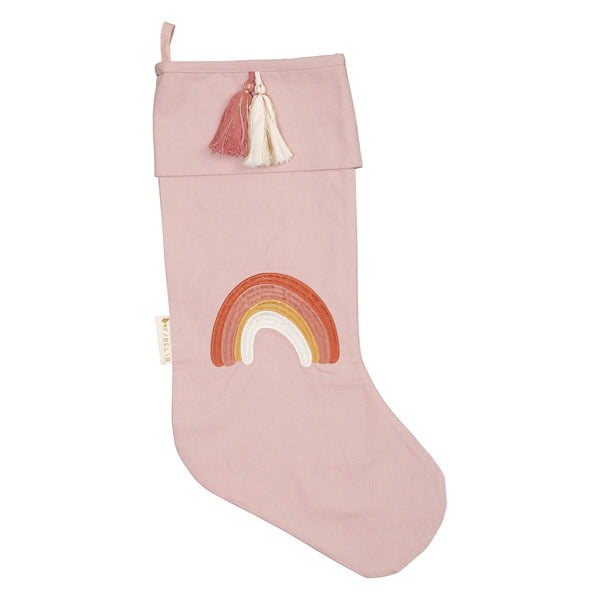 Christmas Stocking - Rainbow