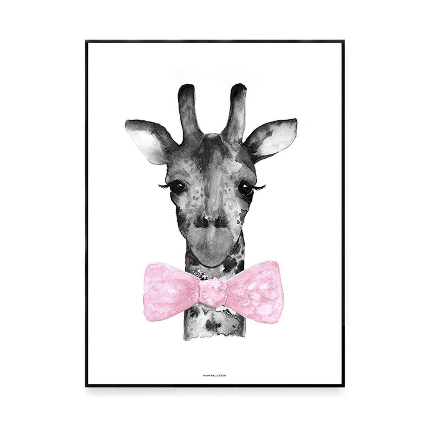 Mr Giraffe - Pink
