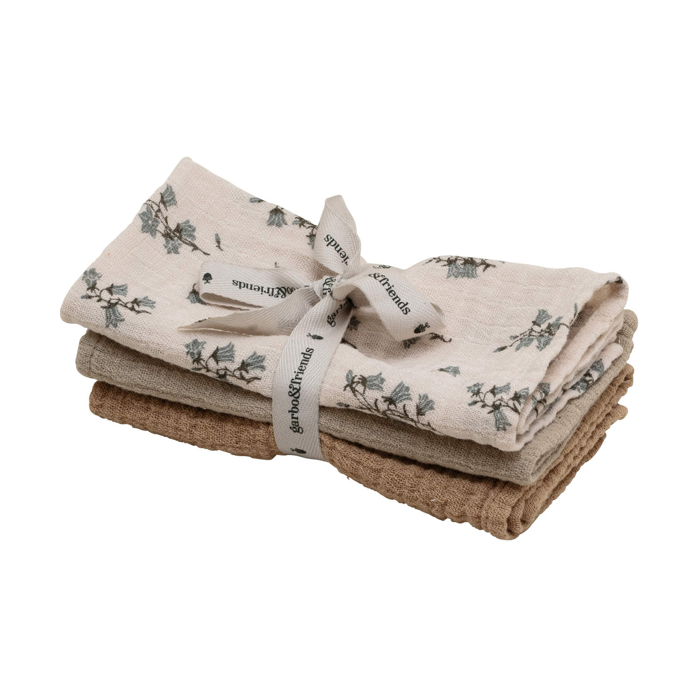 Bluebell Muslin Cloths - Set of 3