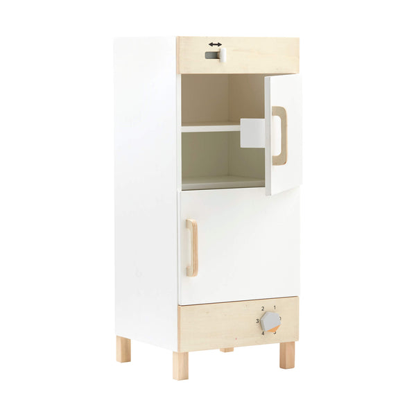 Wooden Fridge Freezer