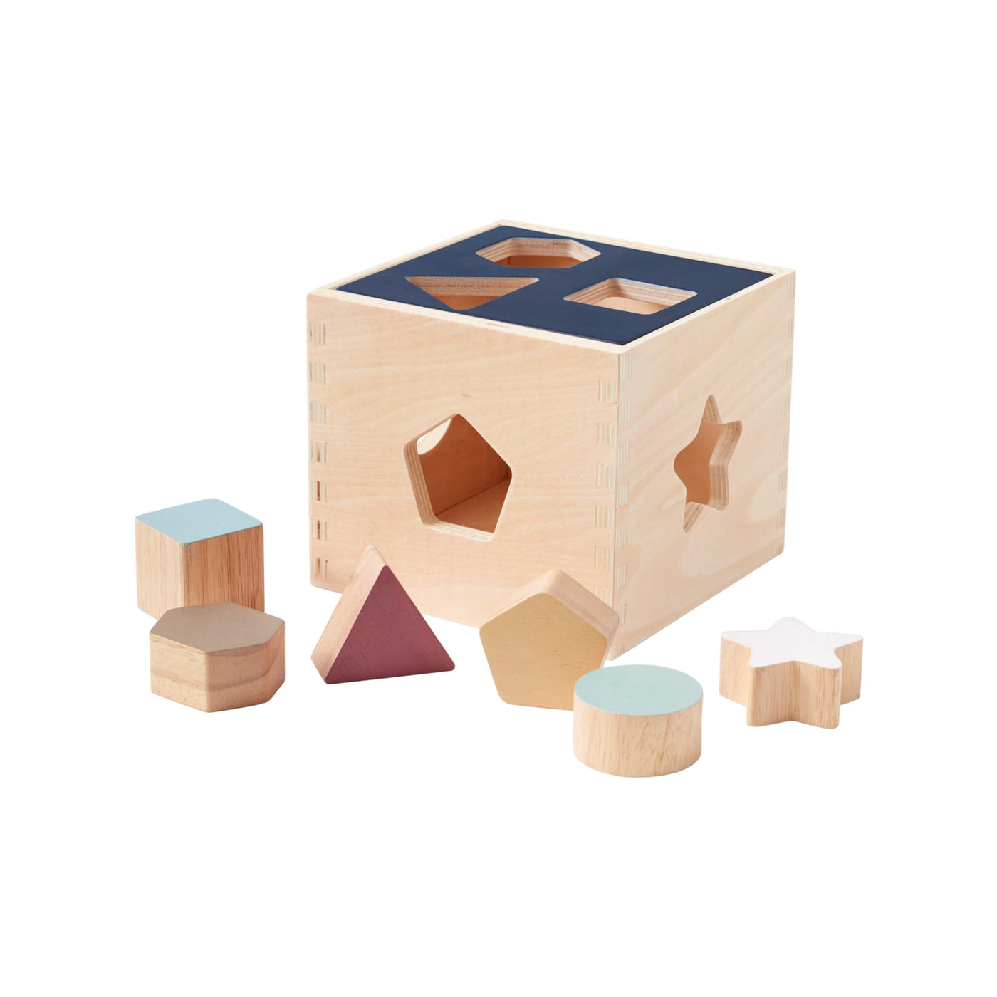 Aiden Wooden Sorter Box