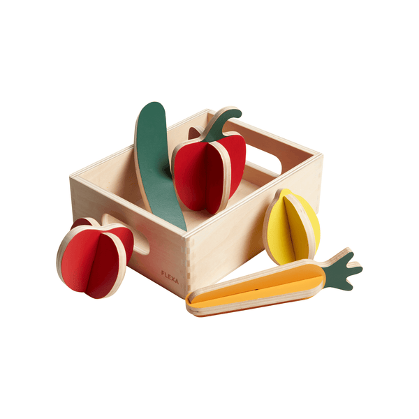Wooden Vegtables