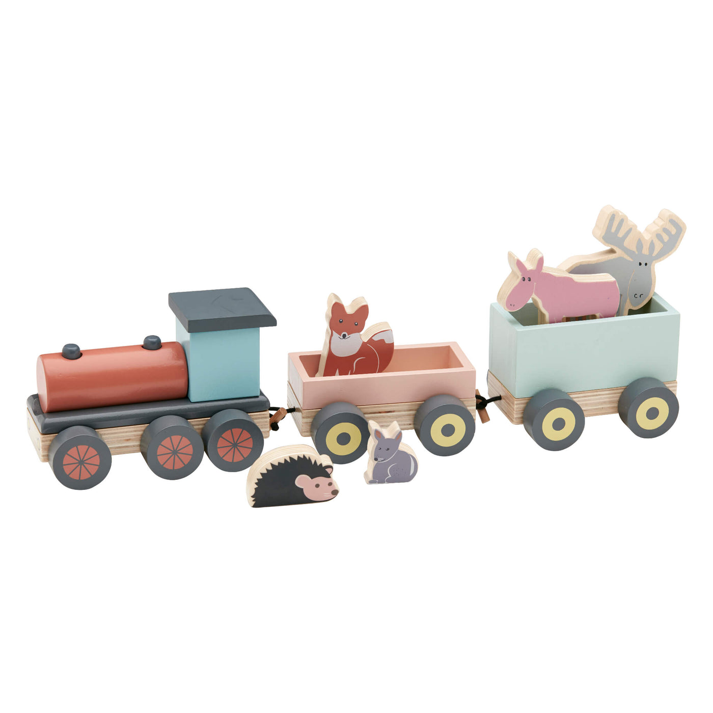 Animal Woodland Train