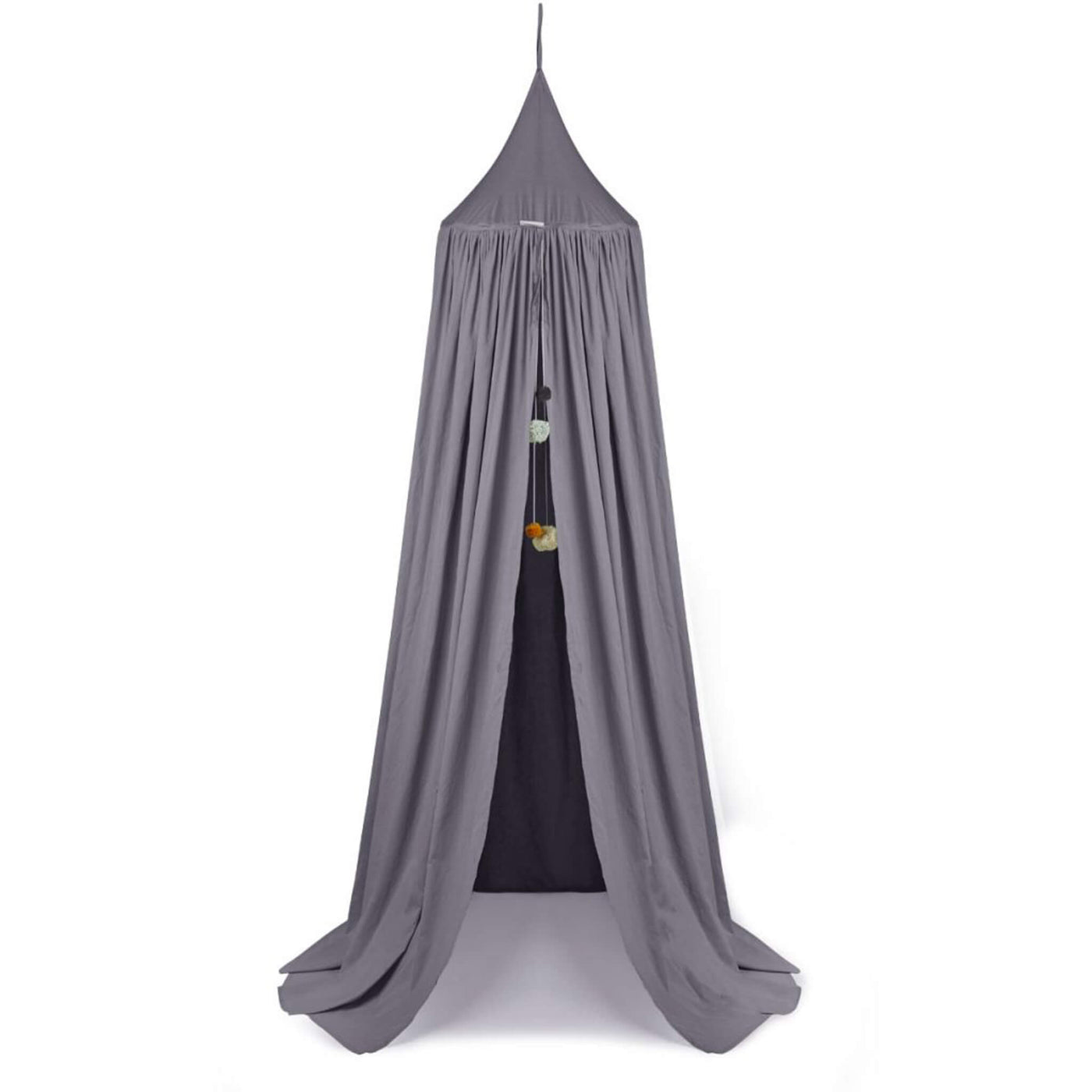 Enzo Bed Canopy - Stone Grey