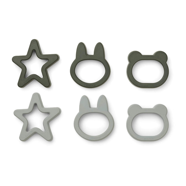 Cookie Cutters - Hunter Green (6 pack)