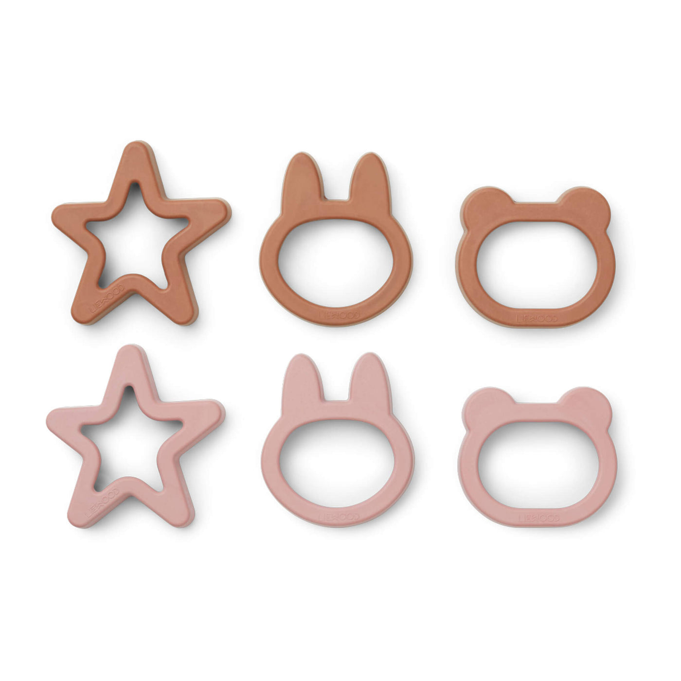 Cookie Cutters - Rose Mix (6 pack)