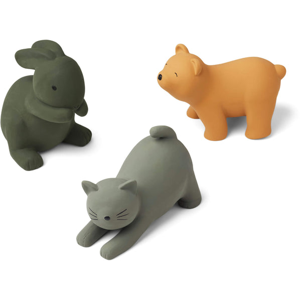 Natural Rubber Toys - Green