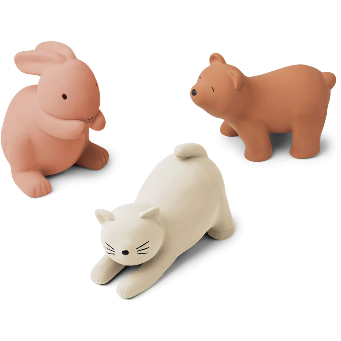Natural Rubber Toys - Rose