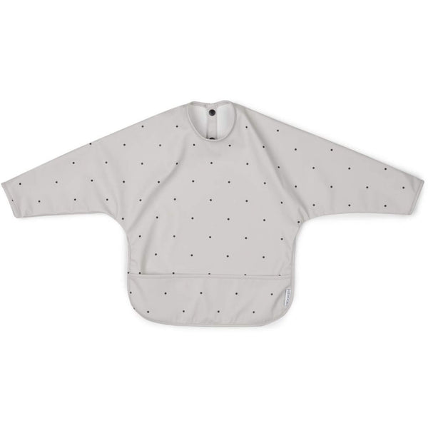 Cape Bib  - Grey Dot