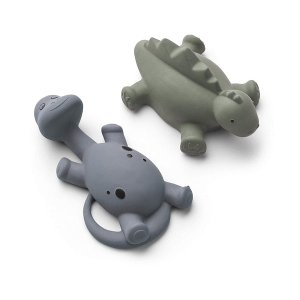 Dino Bath Toys (2 Pack) - Blue