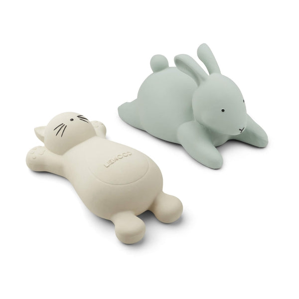 Bath Toys (2 Pack) -  Cat & Rabbit - Creme de la Creme