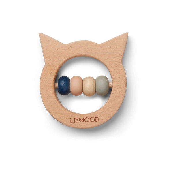 Wood Teether - Cat