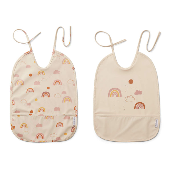 Lai Bib 2 Pack - Rainbow Love