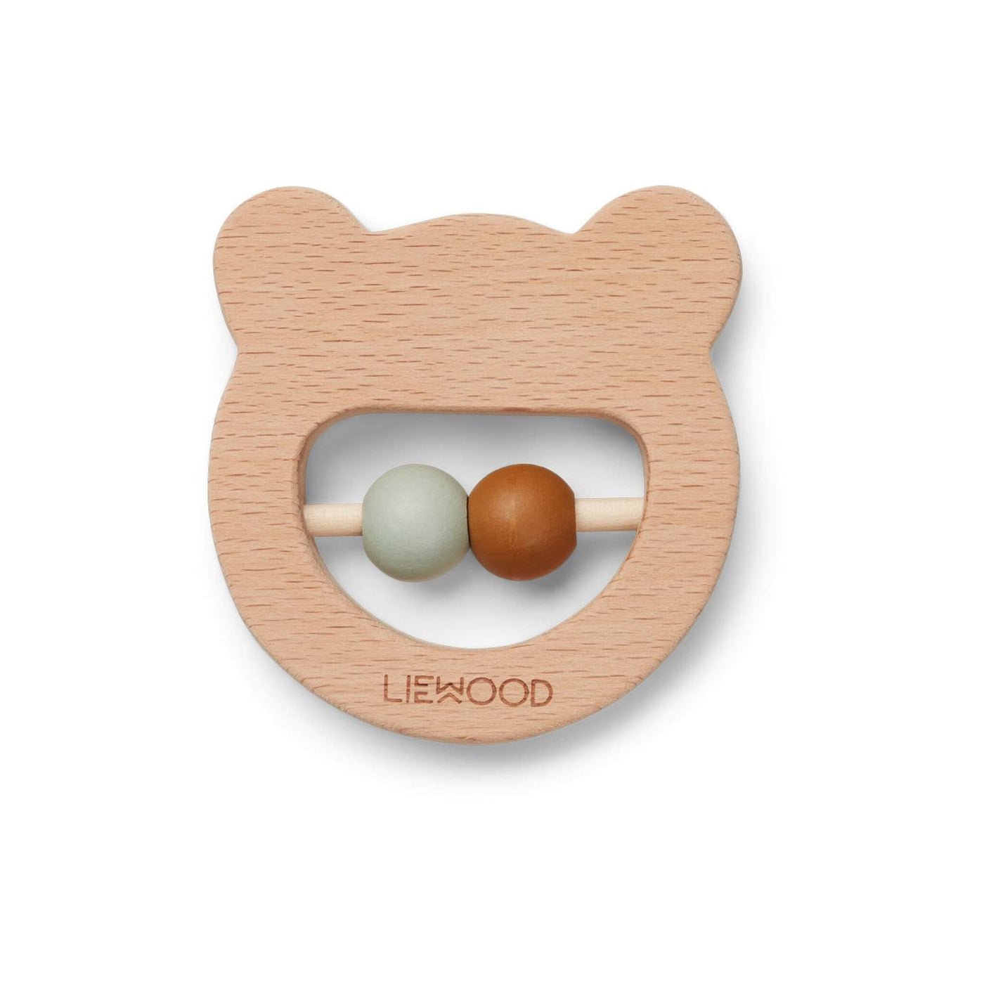 Wood Teether - Mr Bear