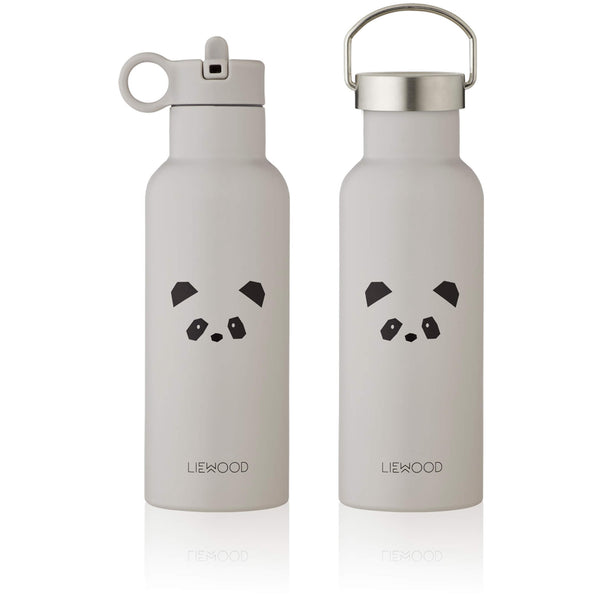 Water Bottle - Panda (Light Grey)
