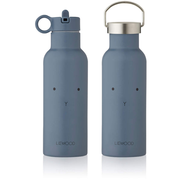 Water Bottle - Rabbit (Blue)
