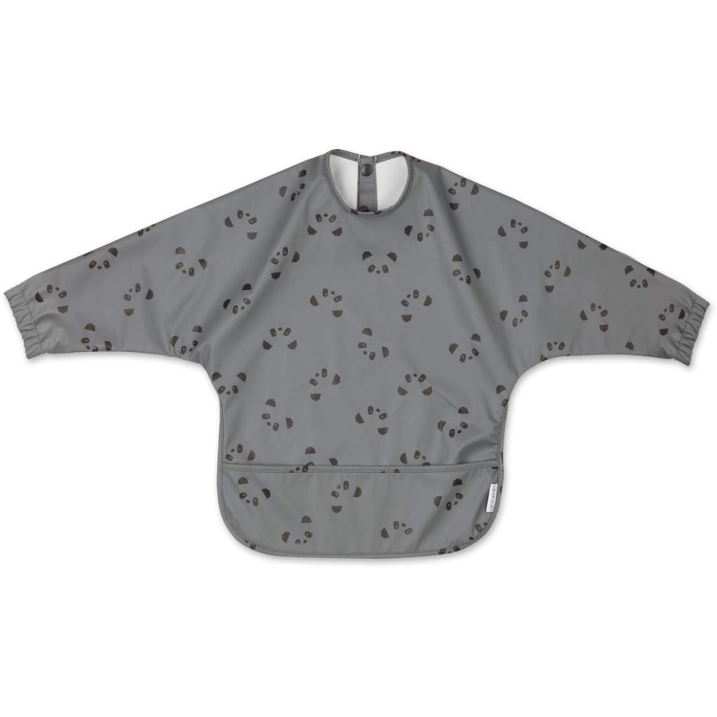 Cape Bib - Panda Stone Grey
