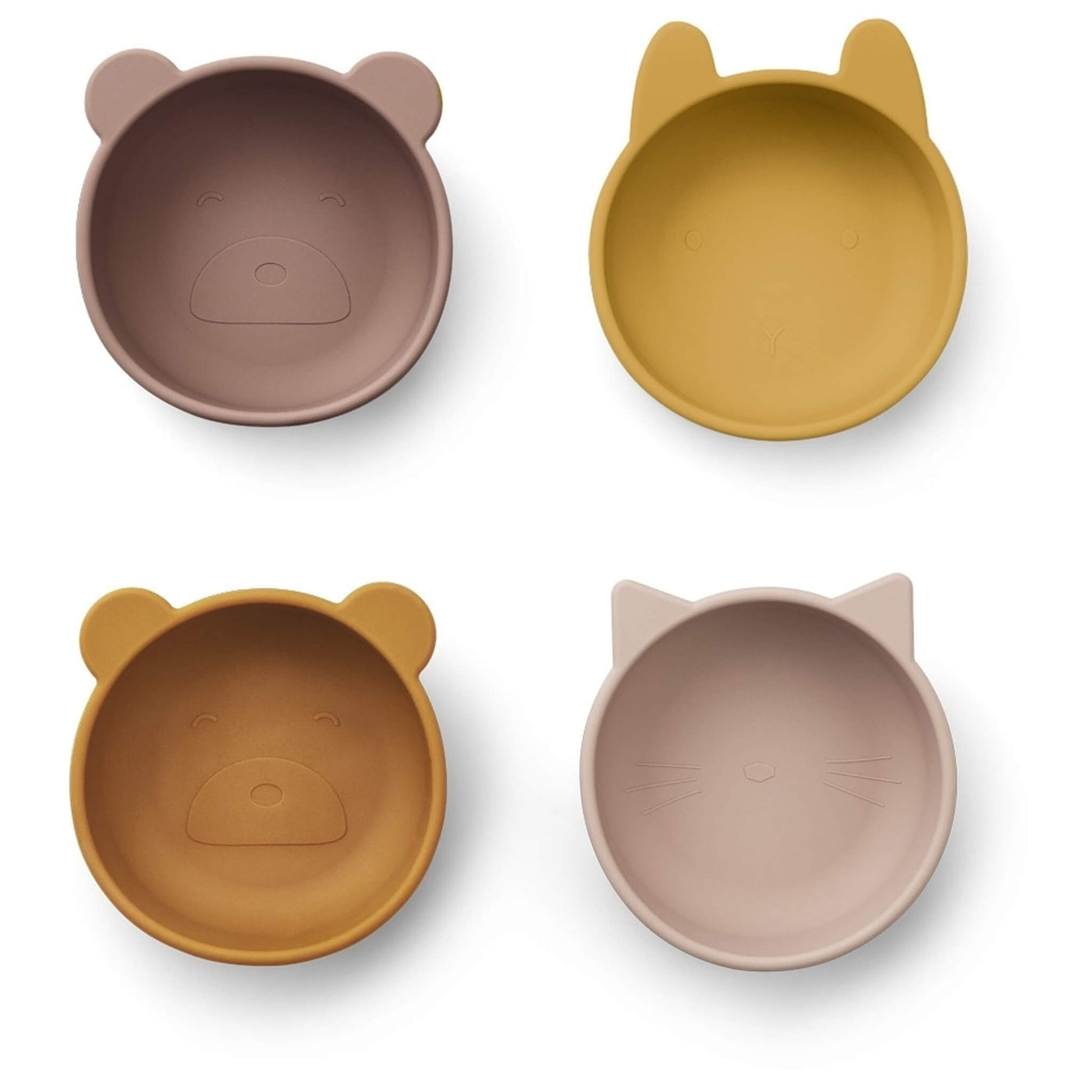 Silicone Bowls - Rose Mix (Pack of 4)