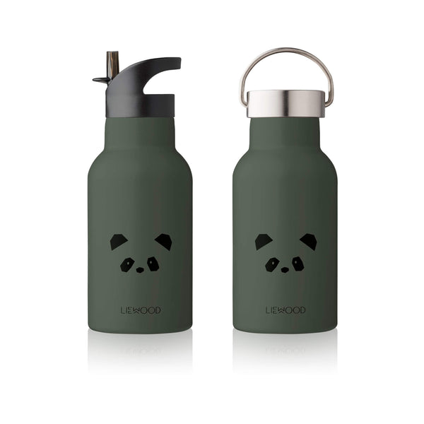 Water Bottle - Panda Hunter Green