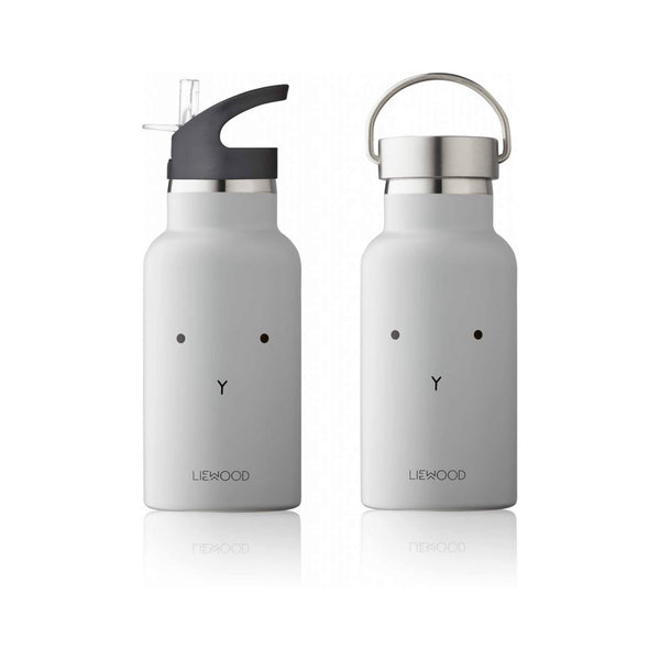 Water Bottle - Rabbit (Grey)