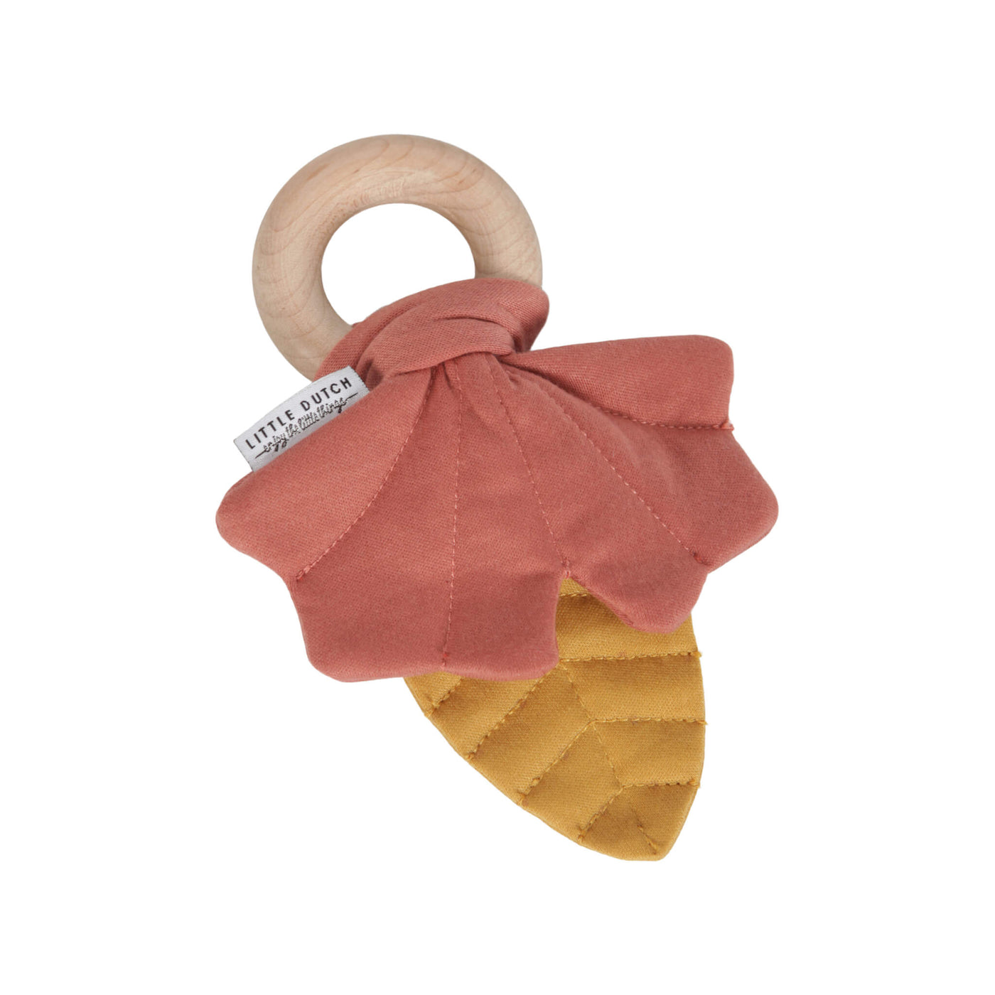 Crinkle Leaves Toy -  Pure & Nature Pink