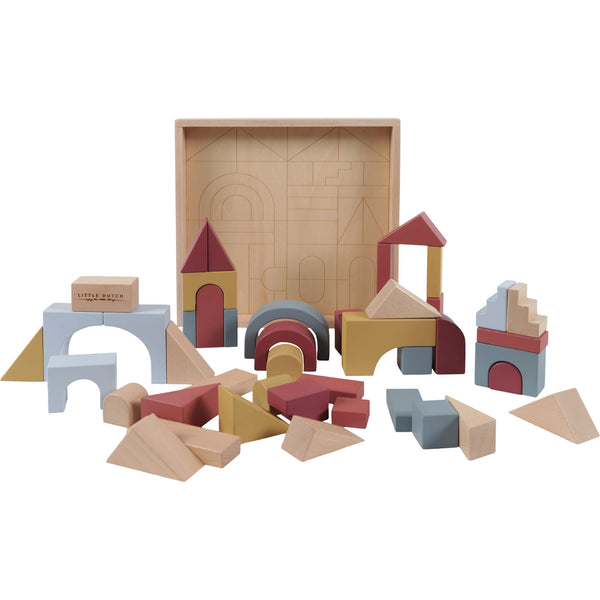 Wooden Building Blocks - Pure & Nature