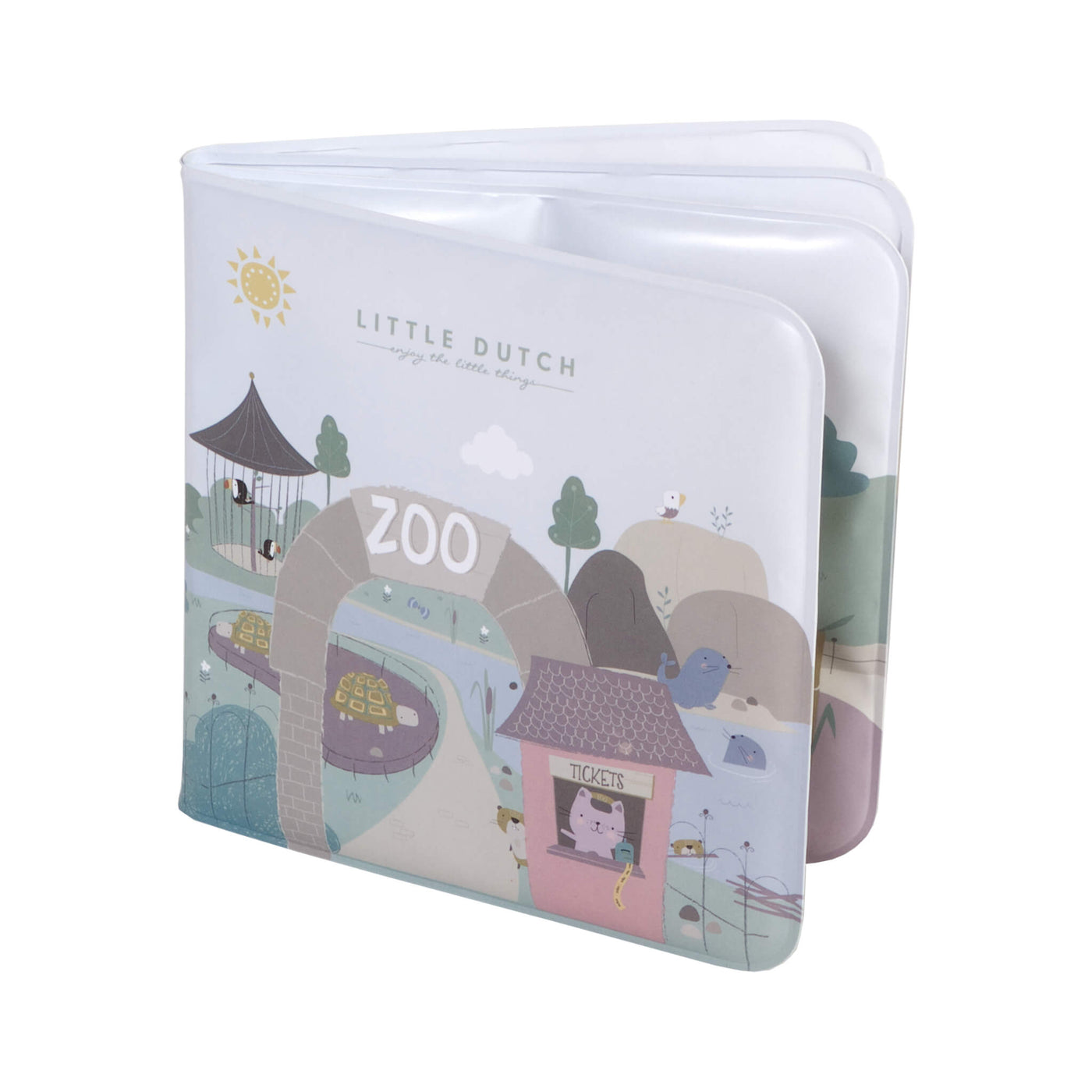 Zoo Bath Book