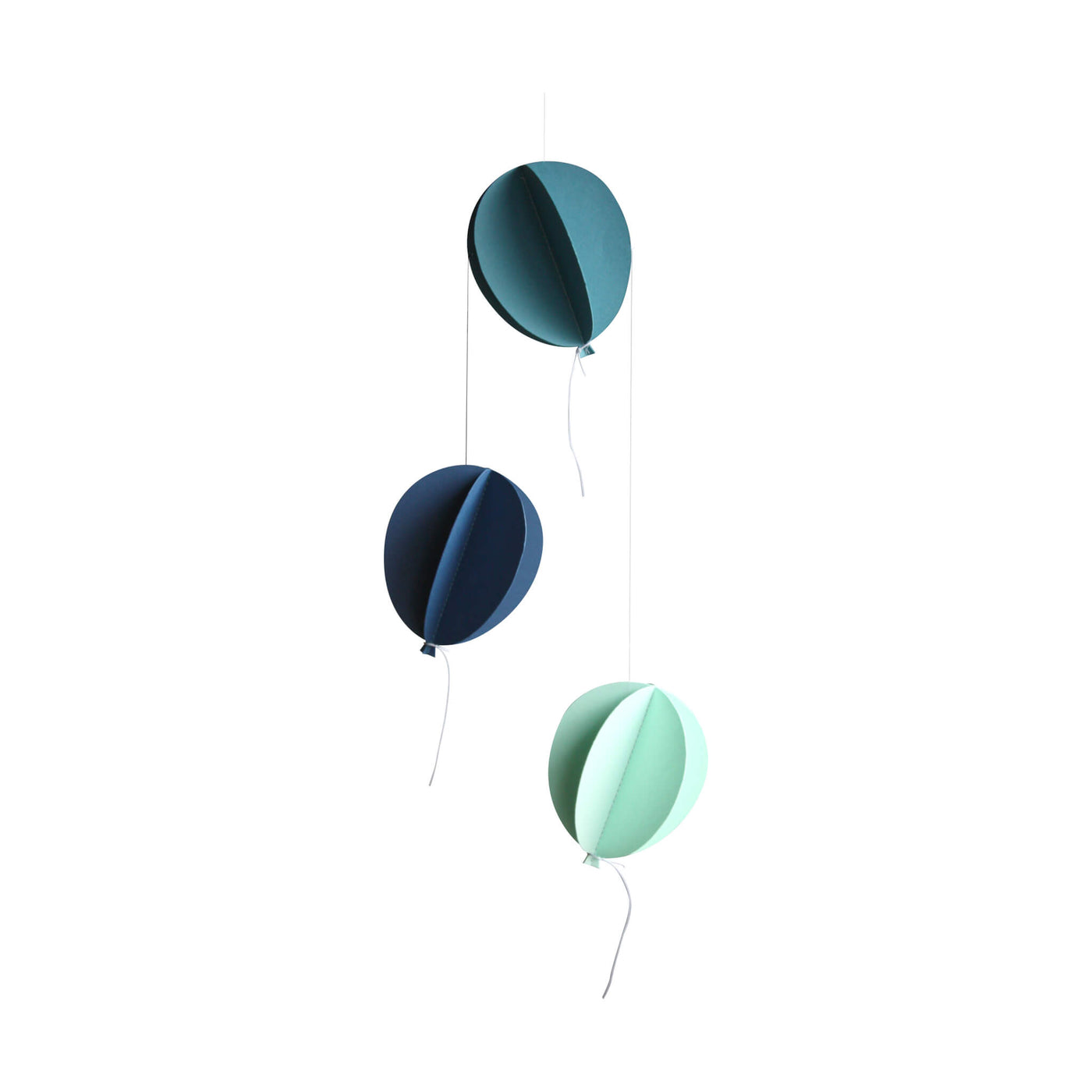 Balloon Mobile - Blues/ Greens