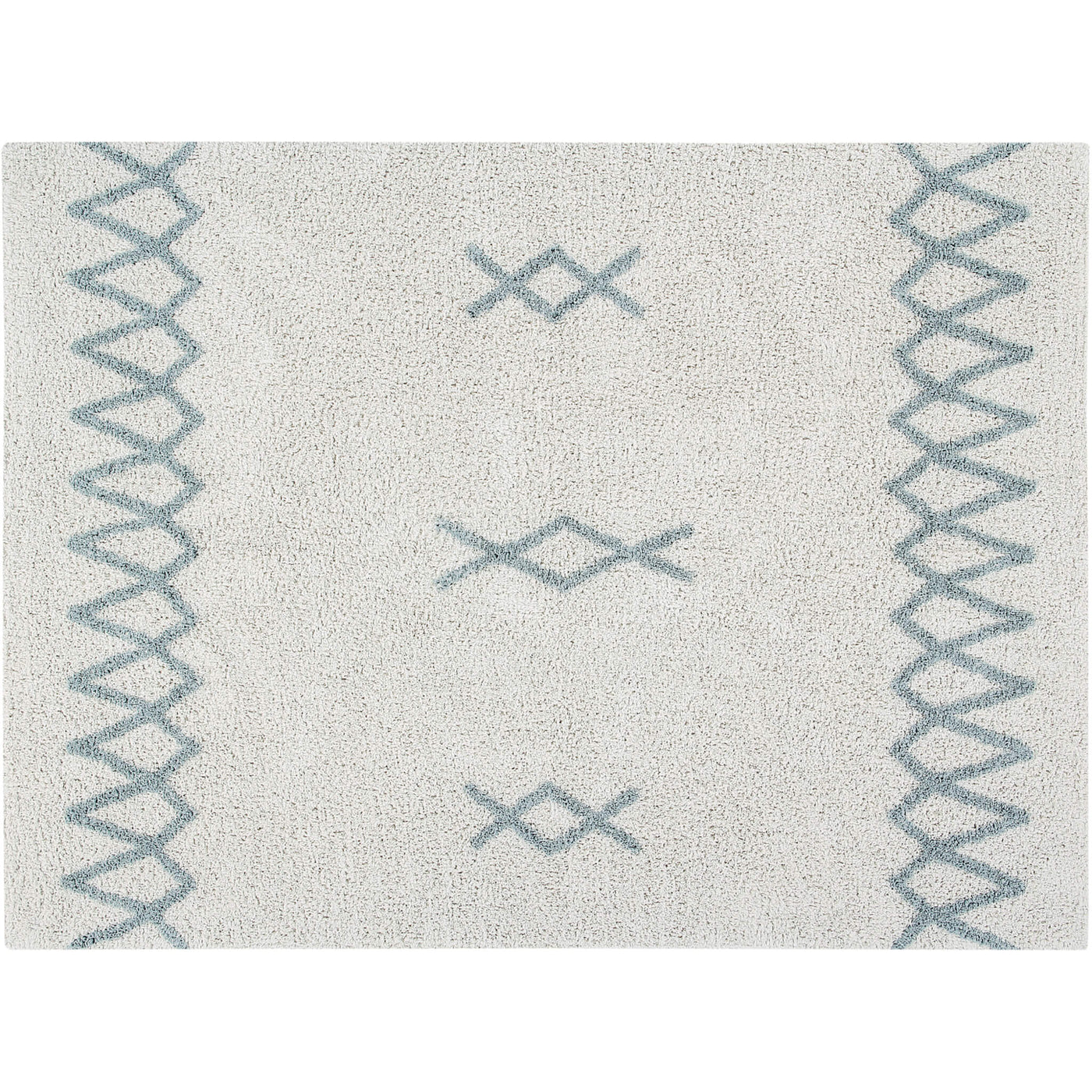 Atlas Washable Rug - Vintage Blue