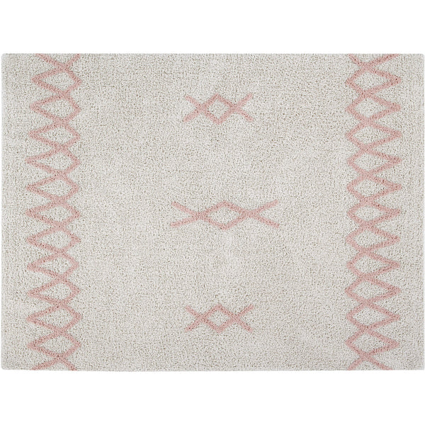 Atlas Washable Rug - Vintage Nude