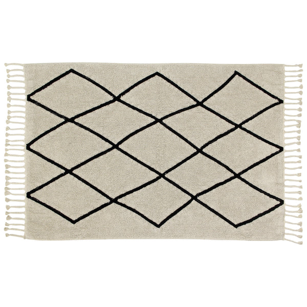 Bereber Washable Rug - Creme