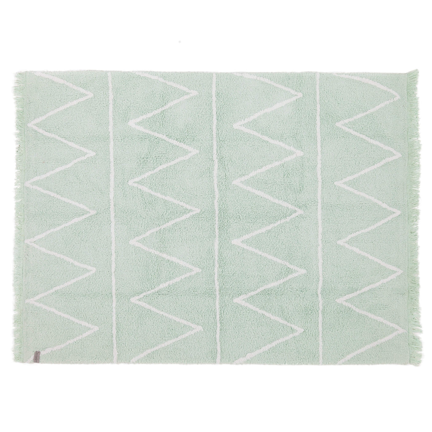 Hippy Washable Rug - Mint