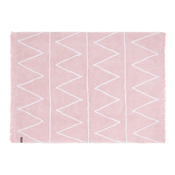 Hippy Washable Rug - Pink
