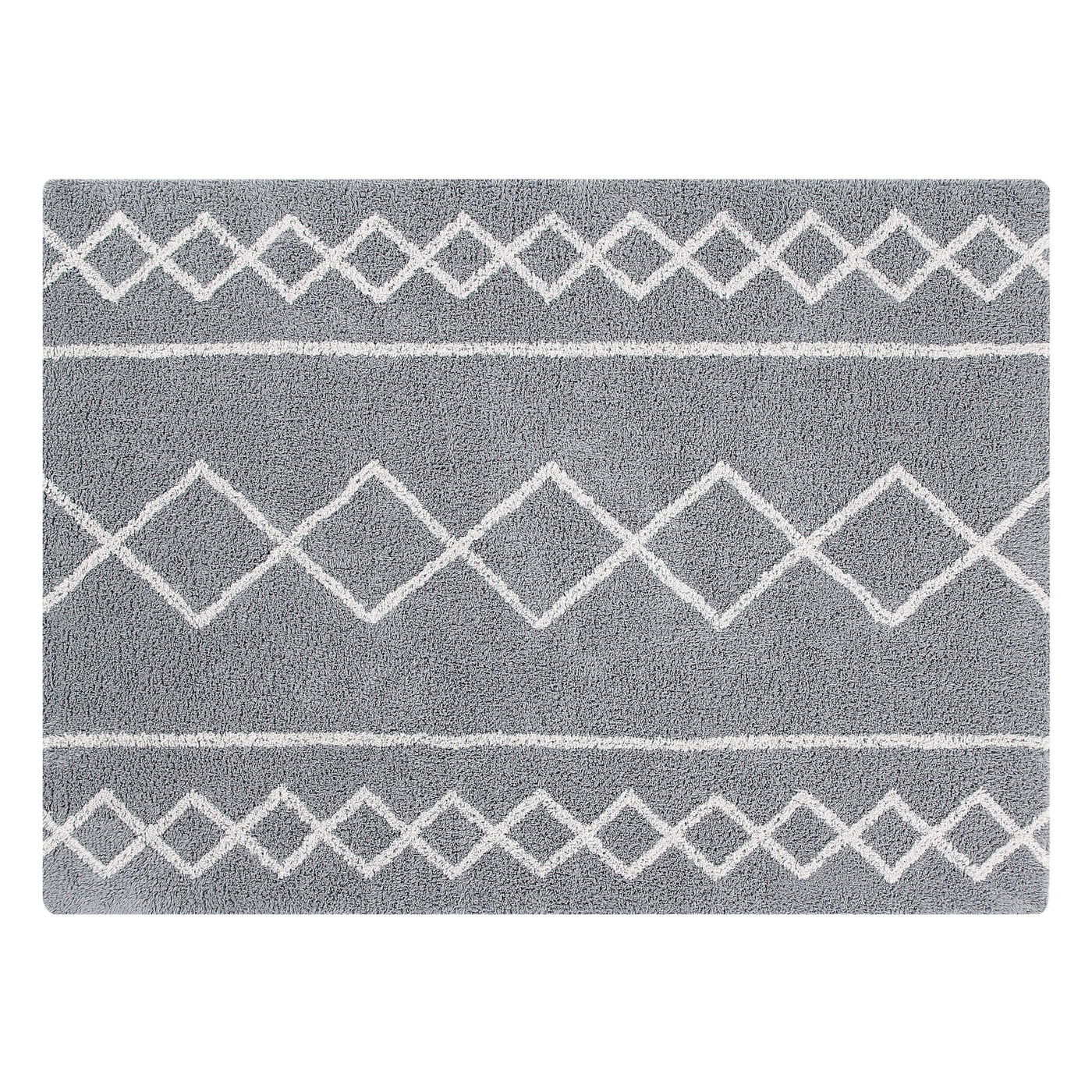 Oasis Washable Rug - Grey