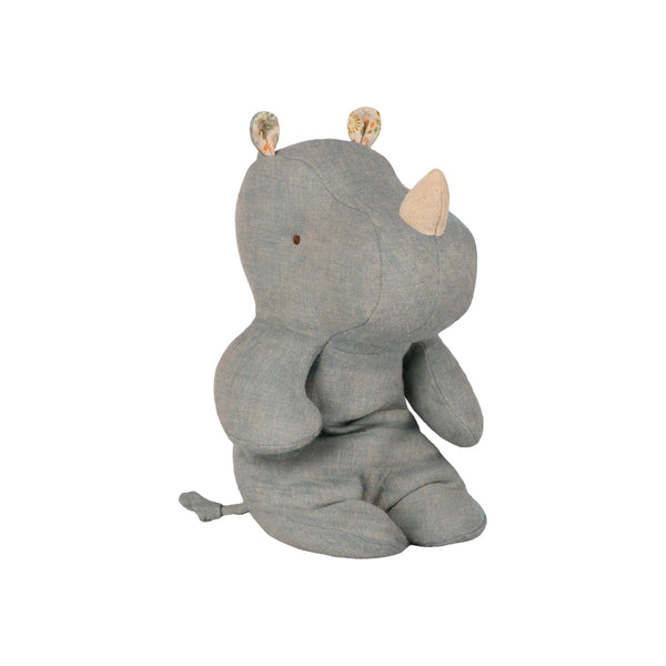 Safari Friends - Rhino Dove Blue (Small)