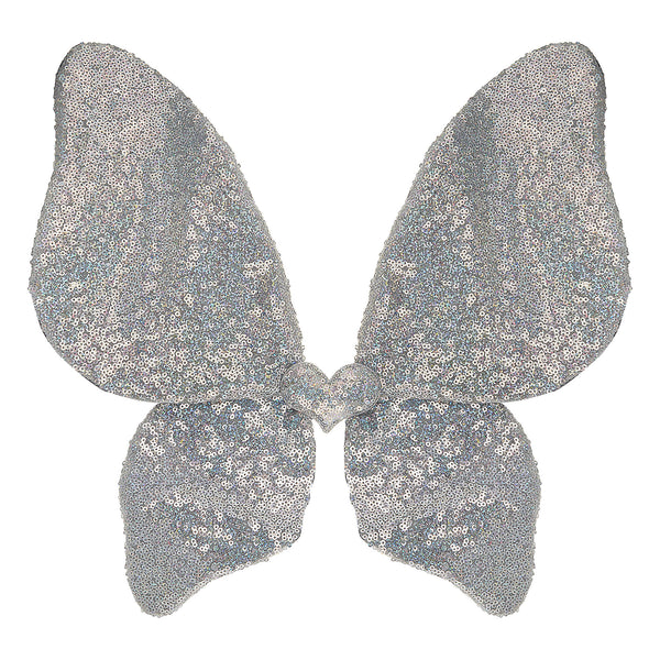 Sequin Wings - Silver