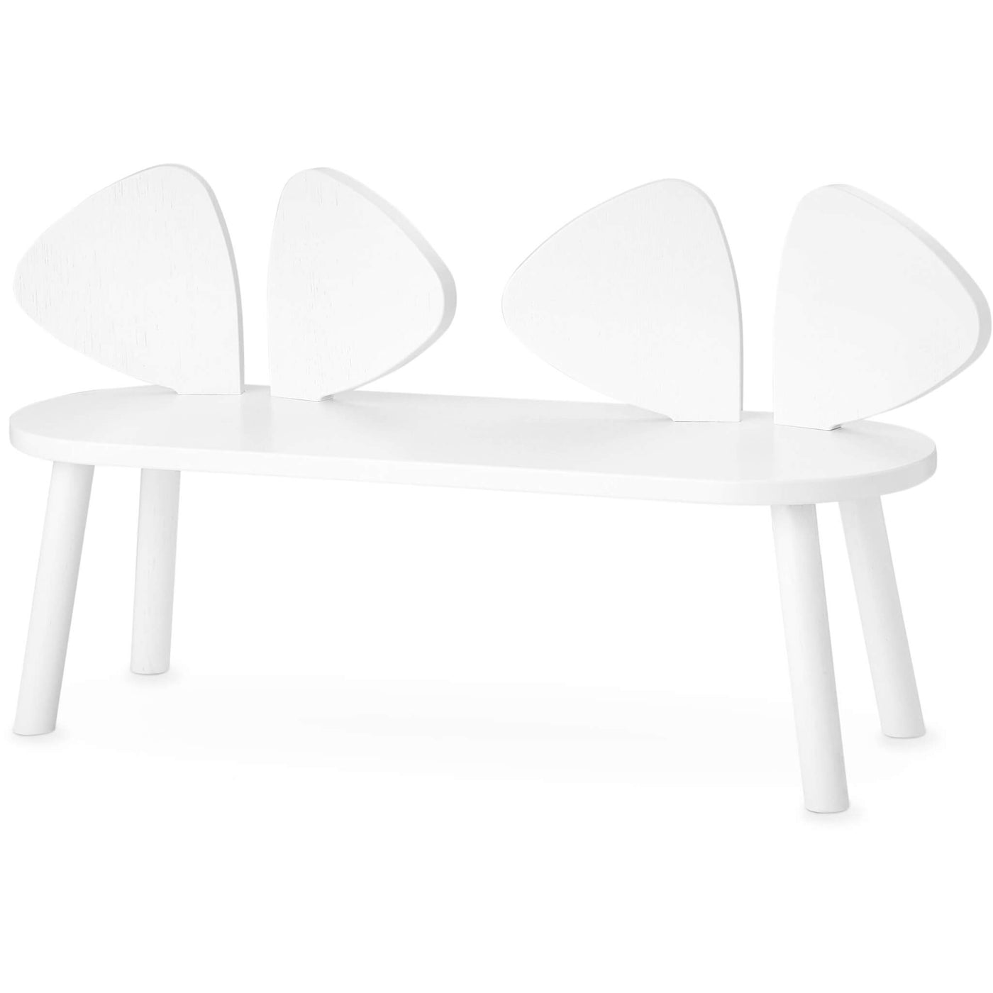 White Mouse Bench