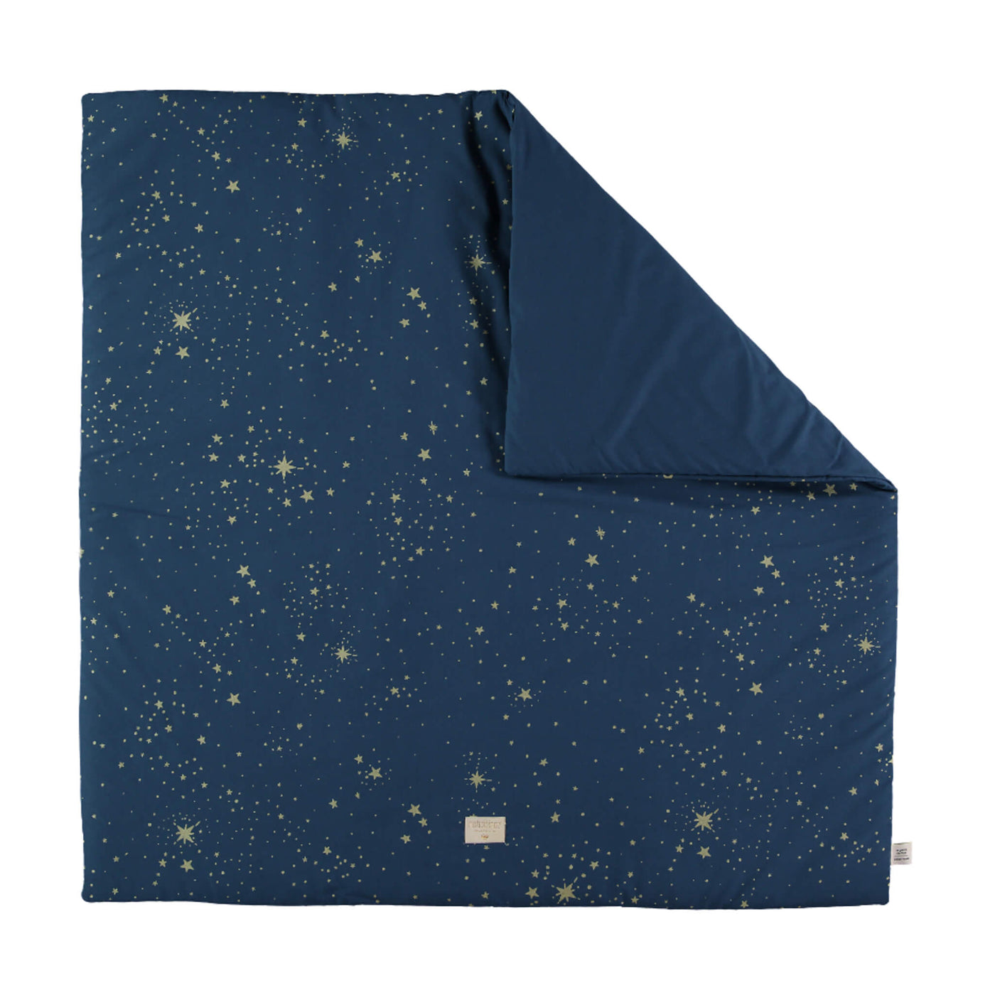 Colorado Square Playmat in Gold Stella/Night Blue