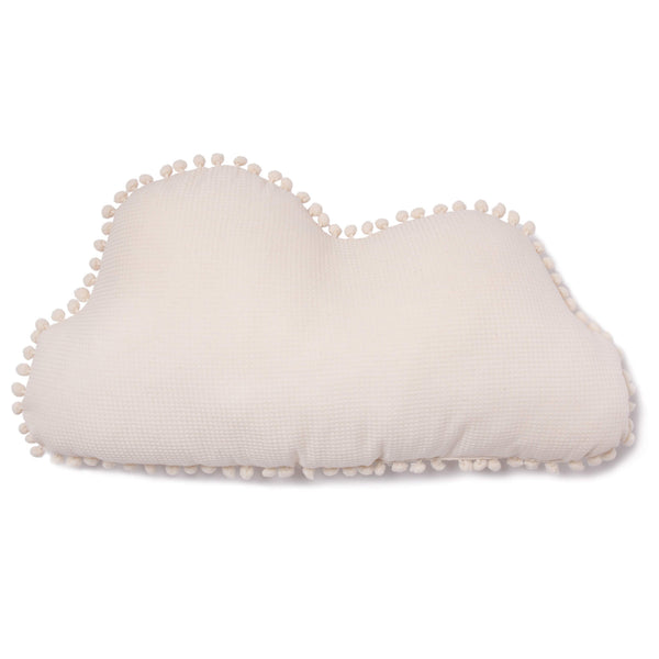 Marshmallow Cloud Cushion - Natural