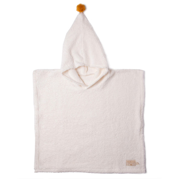 So Cute Bath Poncho - Natural