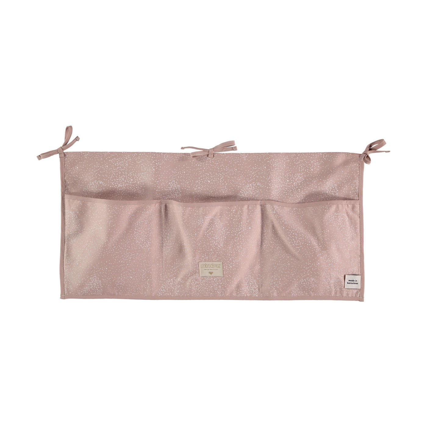 Crib Organiser - Bubble Pink