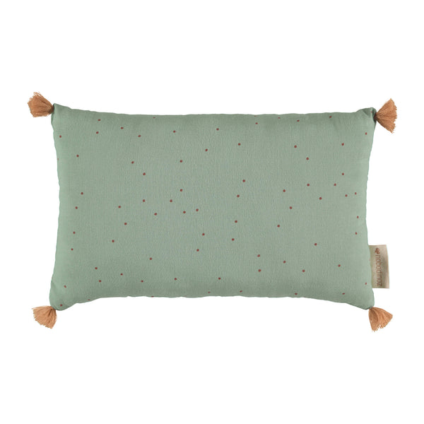 Sublim Cushion - Sweet Toffee Dots/ Eden Green