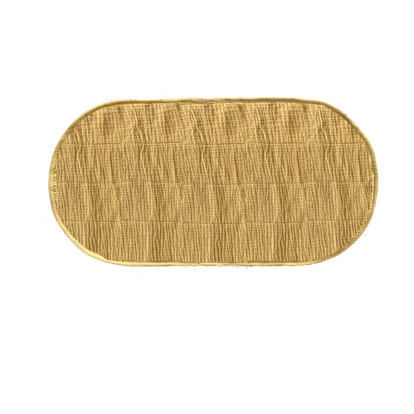 Luxe Changing Basket Cotton Insert - Mustard