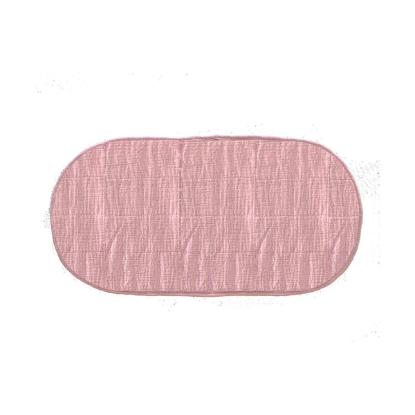 Luxe Changing Basket Cotton Insert - Rose